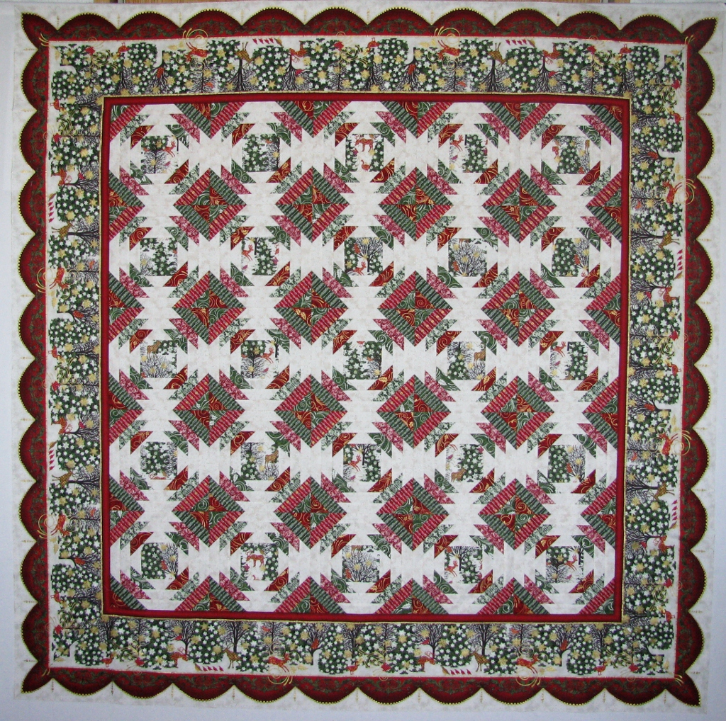 christmas in ann quilt july trees kelle pattern
