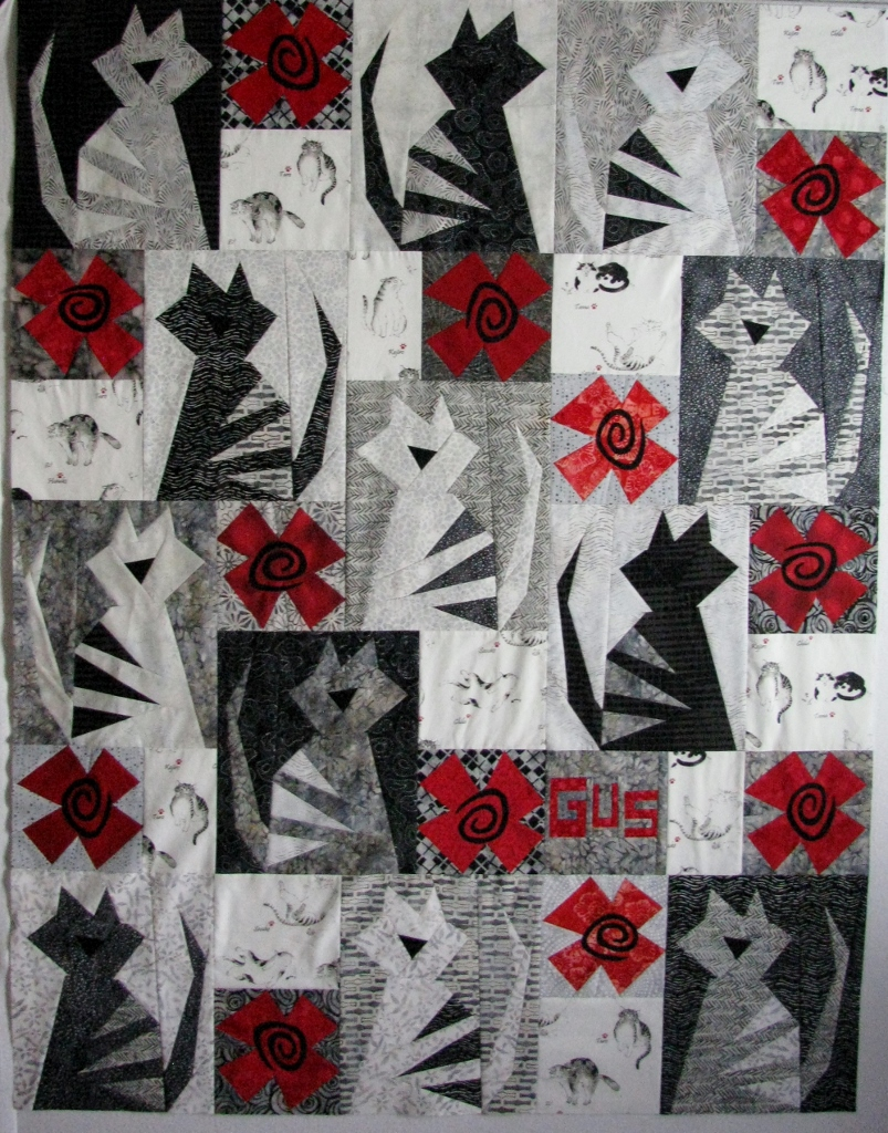 Covered in stitches 187 design wall monday